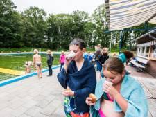 Watertemperatuur 19 graden: warme chocomelk bij zwemvierdaagse Rekken