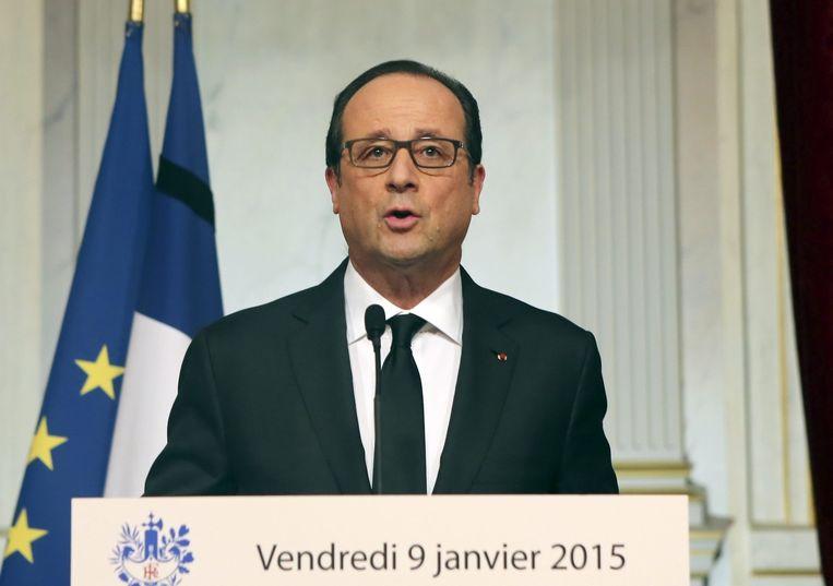 President Hollande Beeld afp