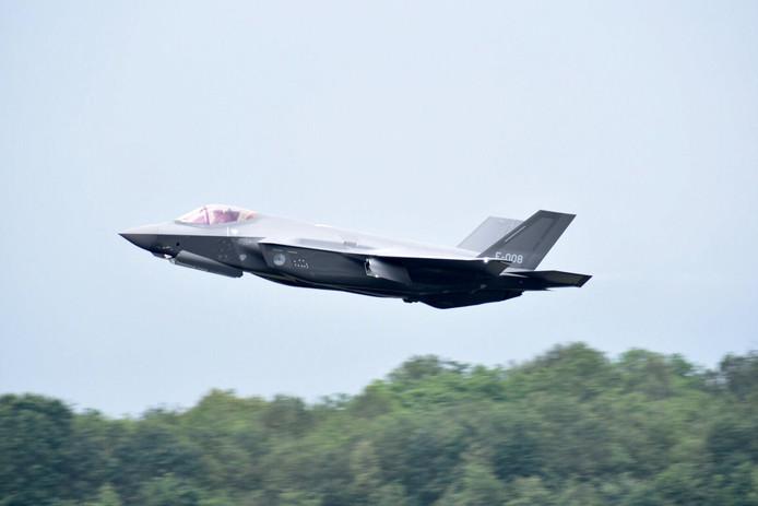 De F-35 in actie.