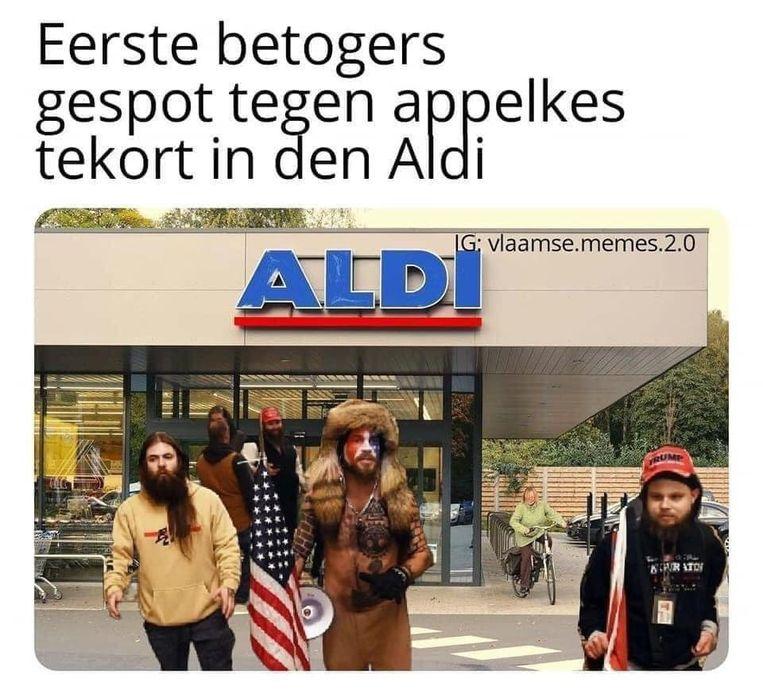 Vlaamse memes Beeld Instagram