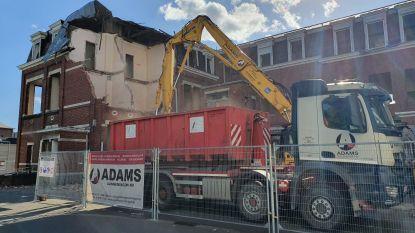 IN BEELD.Sloopwerken voormalig rusthuis nu echt gestart: stukje geschiedenis verdwijnt