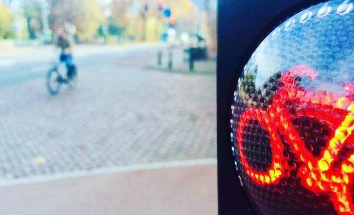 Er werd een rood licht-controle uitgevoerd.