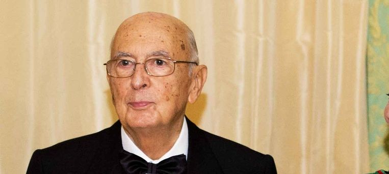 Giorgio Napolitano. Beeld anp