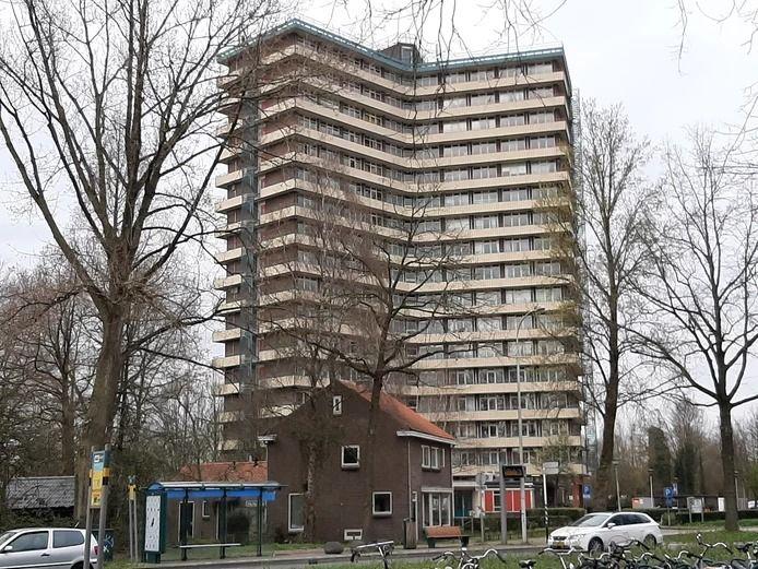 Een studentenflat in Wageningen.