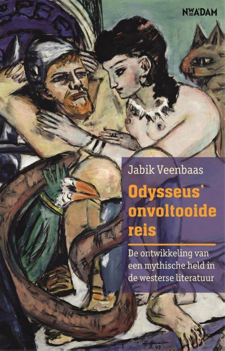 Jabik Veenbaas, Odysseus' onvoltooide reis, Nieuw-Amsterdam, €22,99, 192 blz. Beeld