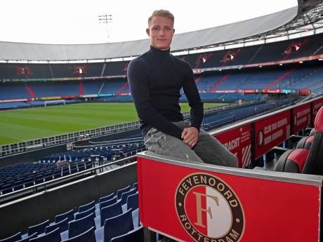 Haastrechter Jordie van Leeuwen (18) werkt toe naar hoofdmacht van Feyenoord