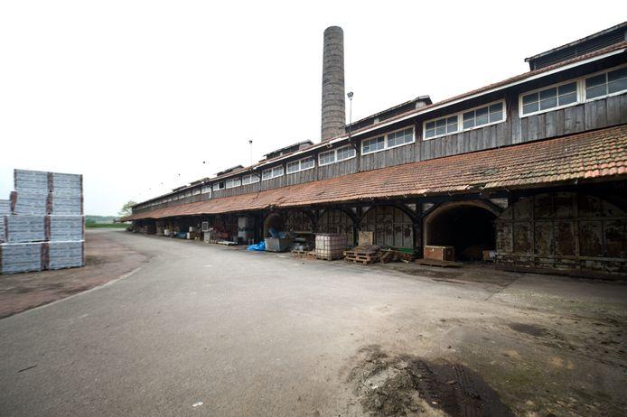 De steenfabriek in Erlecom.