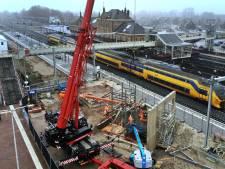 Een nieuw station voor Geldermalsen: nu begint het werk aan perronkap en tunneltrappen