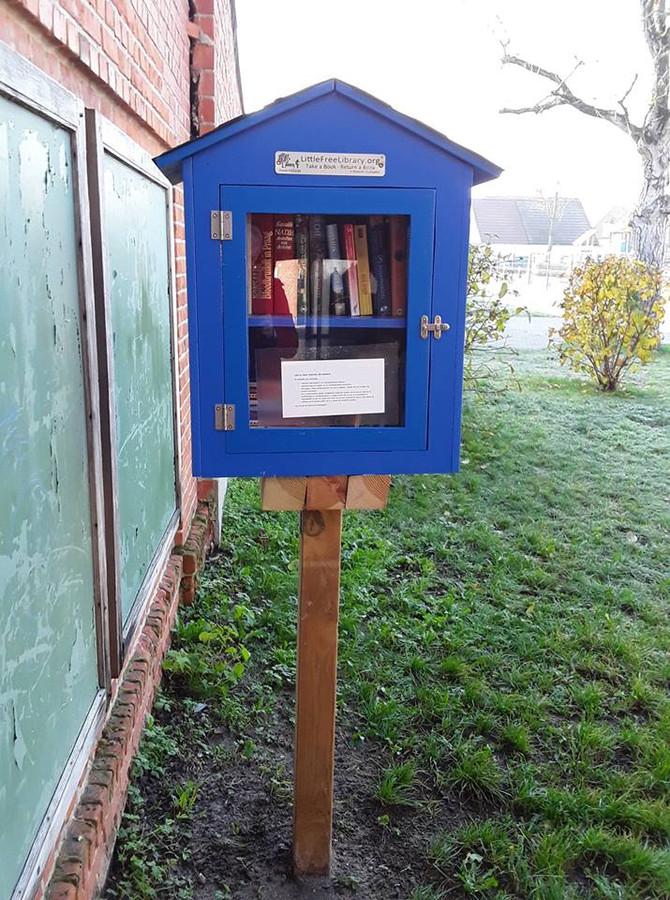 Onder meer aan het Donkoeverpark kwam er nog een extra boekenhuisje bij.