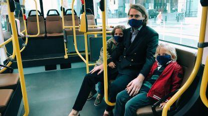 """Schepen De Gucht (Open Vld) wil trambus naar Aalst halen: """"Elektrisch openbaar vervoer in de stad is de toekomst"""""""