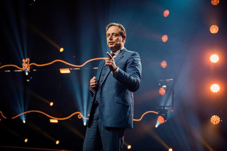 N-VA-voorzitter Bart De Wever. Beeld Tim Coppens
