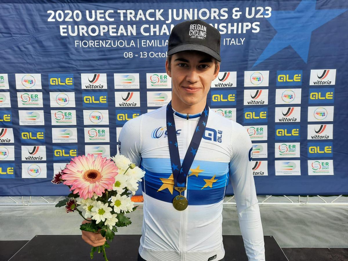 Europees kampioen Noah Vandenbranden kan momenteel niet op de piste rijden.