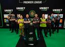 De tien deelnemers aan de Premier League begin deze maand.