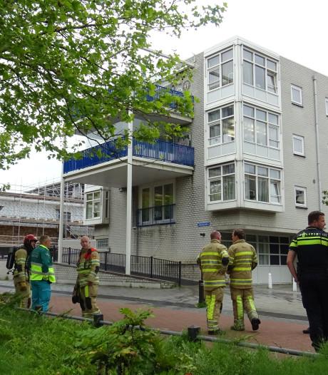 Bbq op balkon in Lelystad: brandweer moet blussen