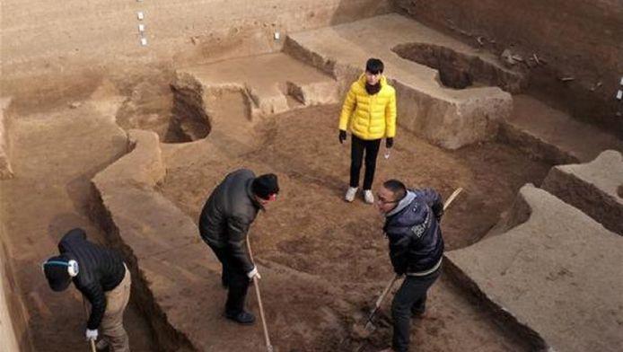 Chinese archeologen ontdekten deze week een 2300 jaar oude stad