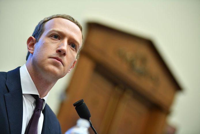 Mark Zuckerberg, fondateur et CEO de Facebook