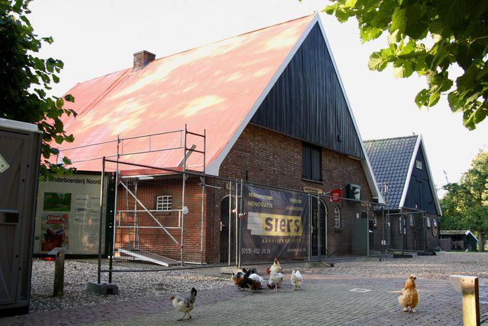 Kinderboerderij Noord is vanaf vandaag twaalf dagen gesloten wegens een renovatie aan het dak.