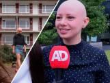 Liselotte (25) wil met afzetten pruik anderen inspireren