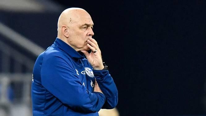 De trainersgrap van Schalke dit seizoen: van coach zonder licentie tot trainer die namen eigen spelers vergeet