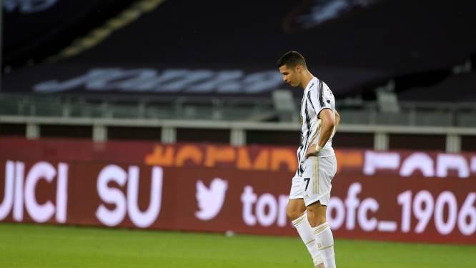Juventus lijdt opnieuw puntenverlies, Ronaldo redt in slotfase nog een punt