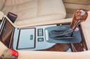 Maagdelijke BMW-middenconsole