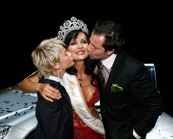 Seka Dobric werd in 2008 verkozen tot 'Mrs. Globe Belgium'