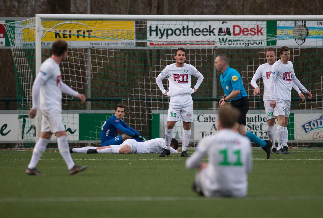 RKZVC speelde in Nuenen met 1-1 gelijk. Foto Theo Kock