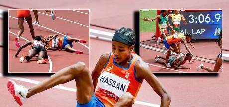 Sifan Hassan doet atletiekwereld wéér versteld staan door zege mét val: 'Extraordinario'
