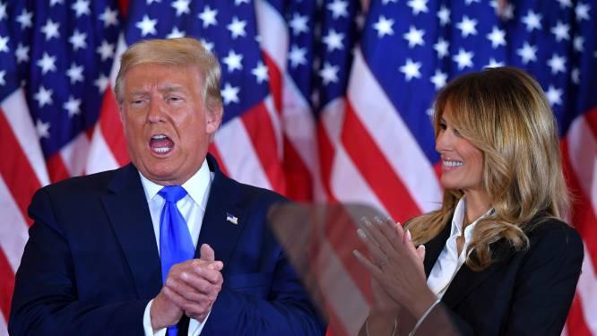 Trump: 'Dit is een schande, het tellen moet stoppen'