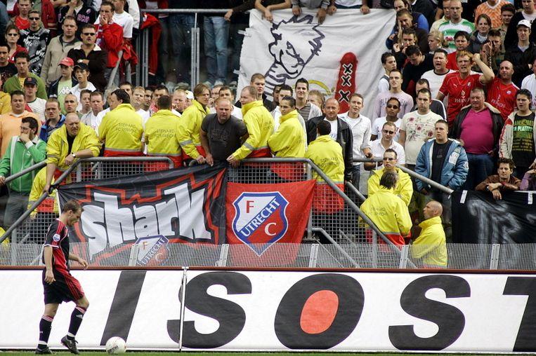 Wesley Sneijder, jaarlijks onheugd bejegend in de Galgenwaard. © PRO SHOTS Beeld