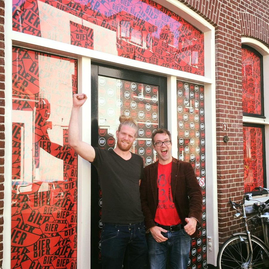 Tobias Bosman en Jauk Hellevoort zijn erg blij met het nieuwe pand.