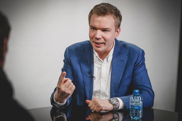 Vlaams parlementslid en Beersels gemeenteraadslid Klaas Slootmans (Vlaams Belang).