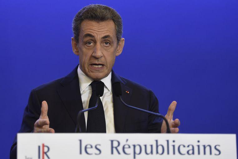 Nicolas Sarkozy. Beeld AFP
