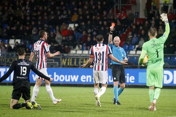 Willem II ging zaterdagavond kiezelhard onderuit tegen Heerenveen.