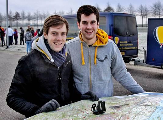 Steven (29) en Evert (26) Dehandschutter.