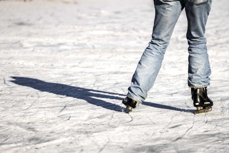 Deelplatforms en -groepen sneeuwen onder in de oproepen voor schaatsen. Beeld ANP
