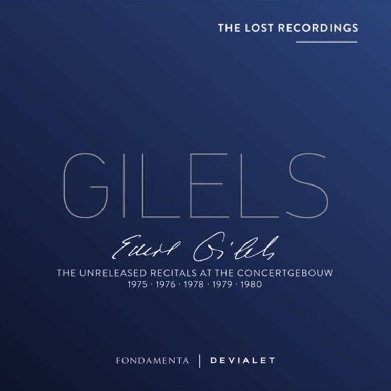 19. CD _ Emil Gilels _ Unreleased Recitals Concertgebouw Beeld x