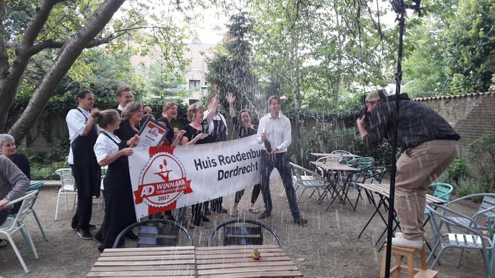 Huis Roodenburch in Dordrecht wint de Terrassentrofee 2017.