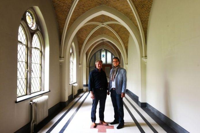Hendrik Roozen (links) en Laurens van Rij van Roozen.