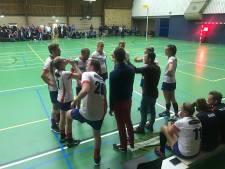 Korfballers NOVA debuteren in overgangsklasse met nederlaag