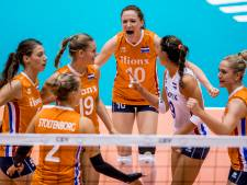 Volleybalsters buigen voor Rusland in finale Super Series