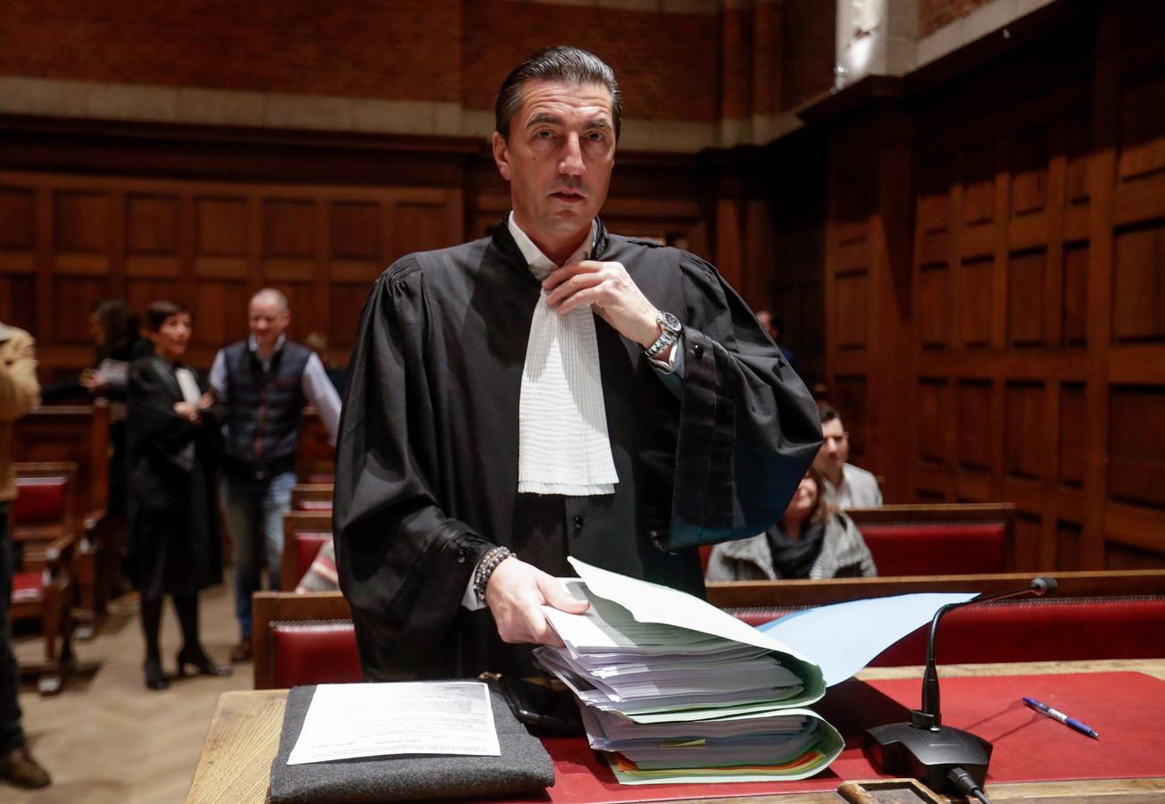 Advocaat Kris Luyckx pleitte vanmorgen voor de jeugdrechter op het hof van beroep.