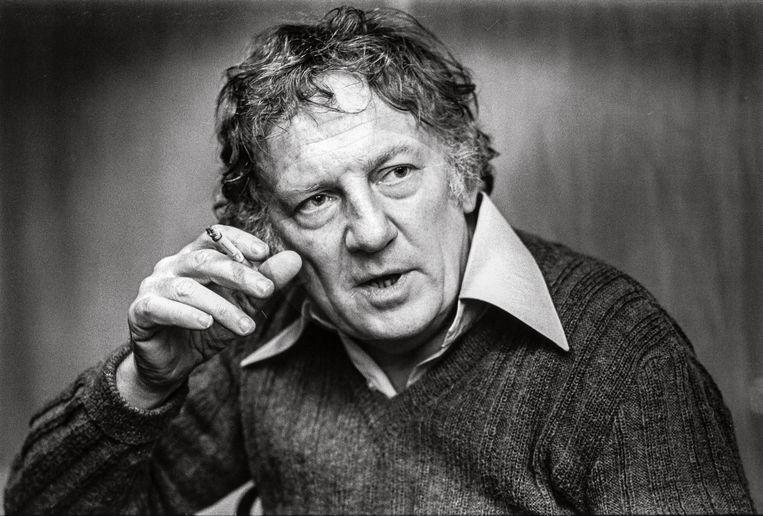 Hugo Claus in 1984. Connie Palmen: 'Op de middelbare school was ik al gek van zijn boeken.' Beeld rv © Michiel Hendryckx