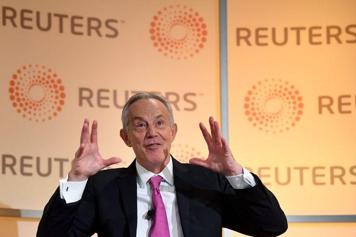 De Britse ex-premier Tony Blair.
