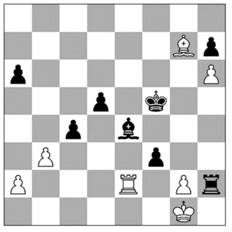 J. van Foreest-Aronian (Chessable Masters, 2021). Beeld