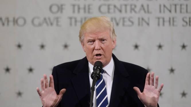 """Weinig volk op inauguratie? """"Er leken wel anderhalf miljoen mensen"""", zegt Trump"""