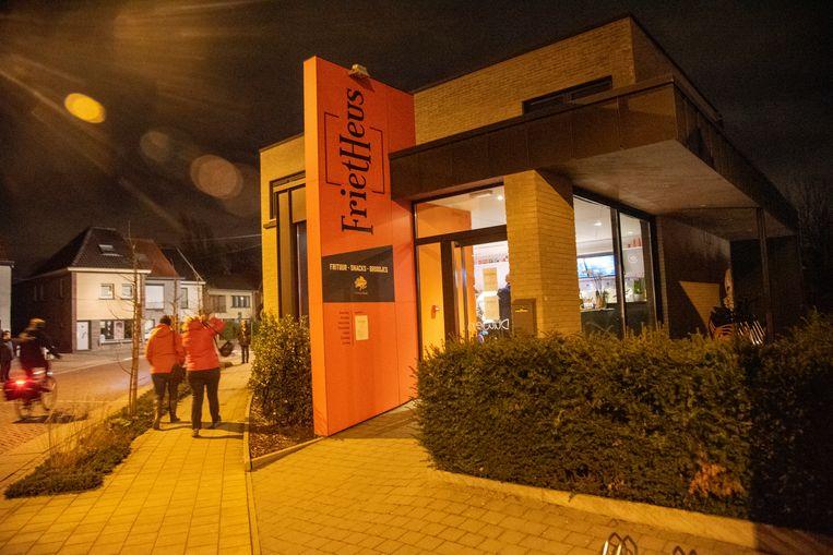 De nieuwe FrietHeus in Heusden.
