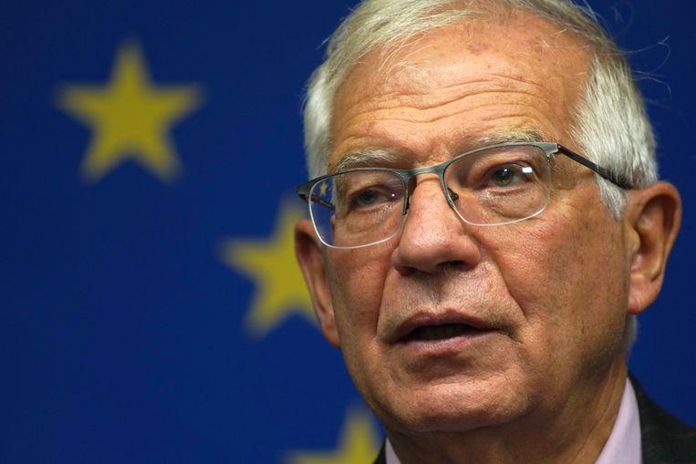Josep Borrell, de Europese hoge vertegenwoordiger voor buitenlandse zaken. Beeld REUTERS