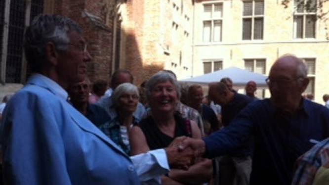 Klaas Hendrikse en Koorkerk nemen afscheid van elkaar