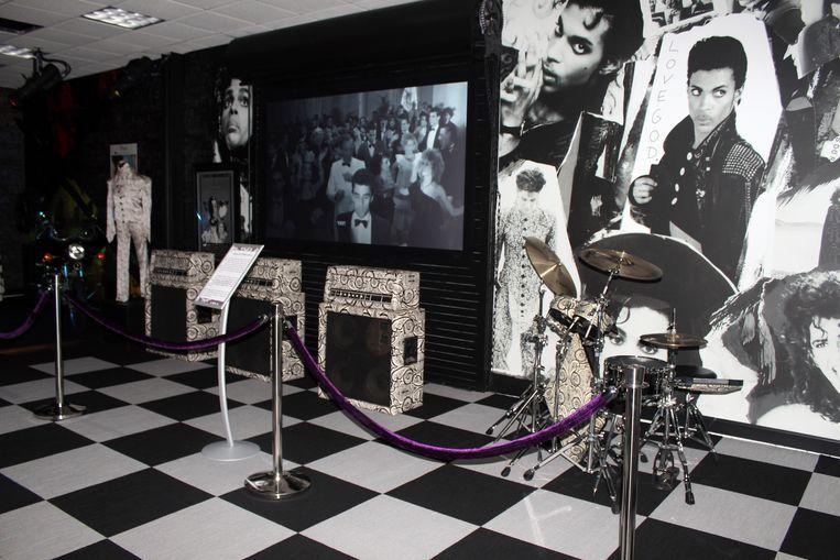 De voormalige opnamestudio Paisley Park in Minneapolis. Beeld AP